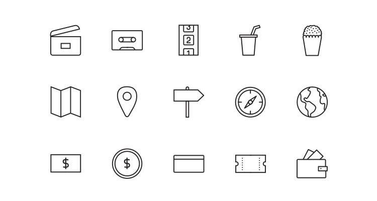 13Stripes & Co Line-Styled Icon Set