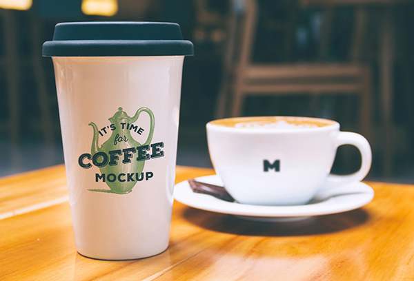 16 Coffee Mug PSD Mockup