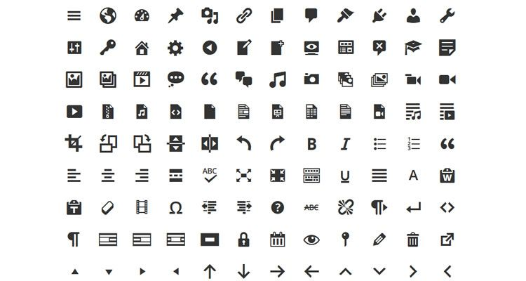 Top 50 Free Icon Sets From 2014