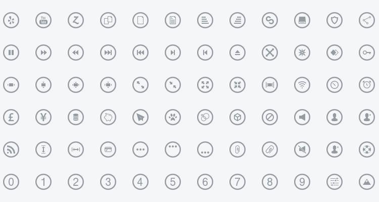19Metrize Metro-Style Icons
