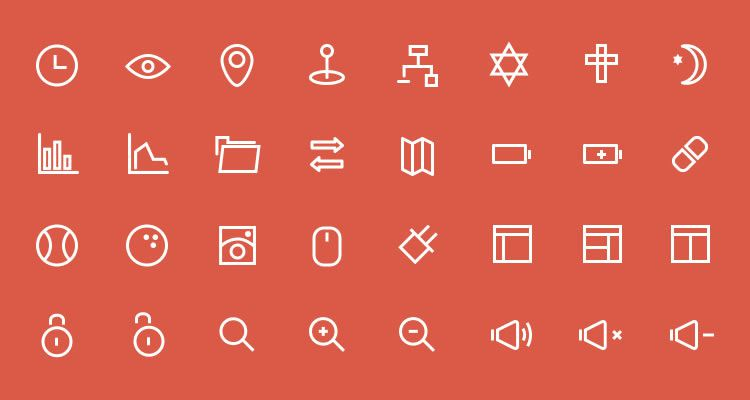 23px Icons Vector Set