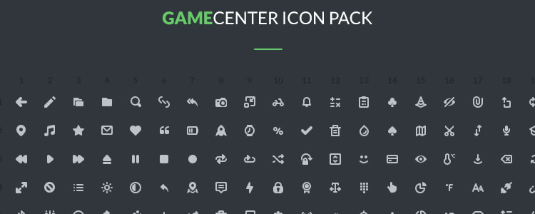48Gamecenter Icons Pack