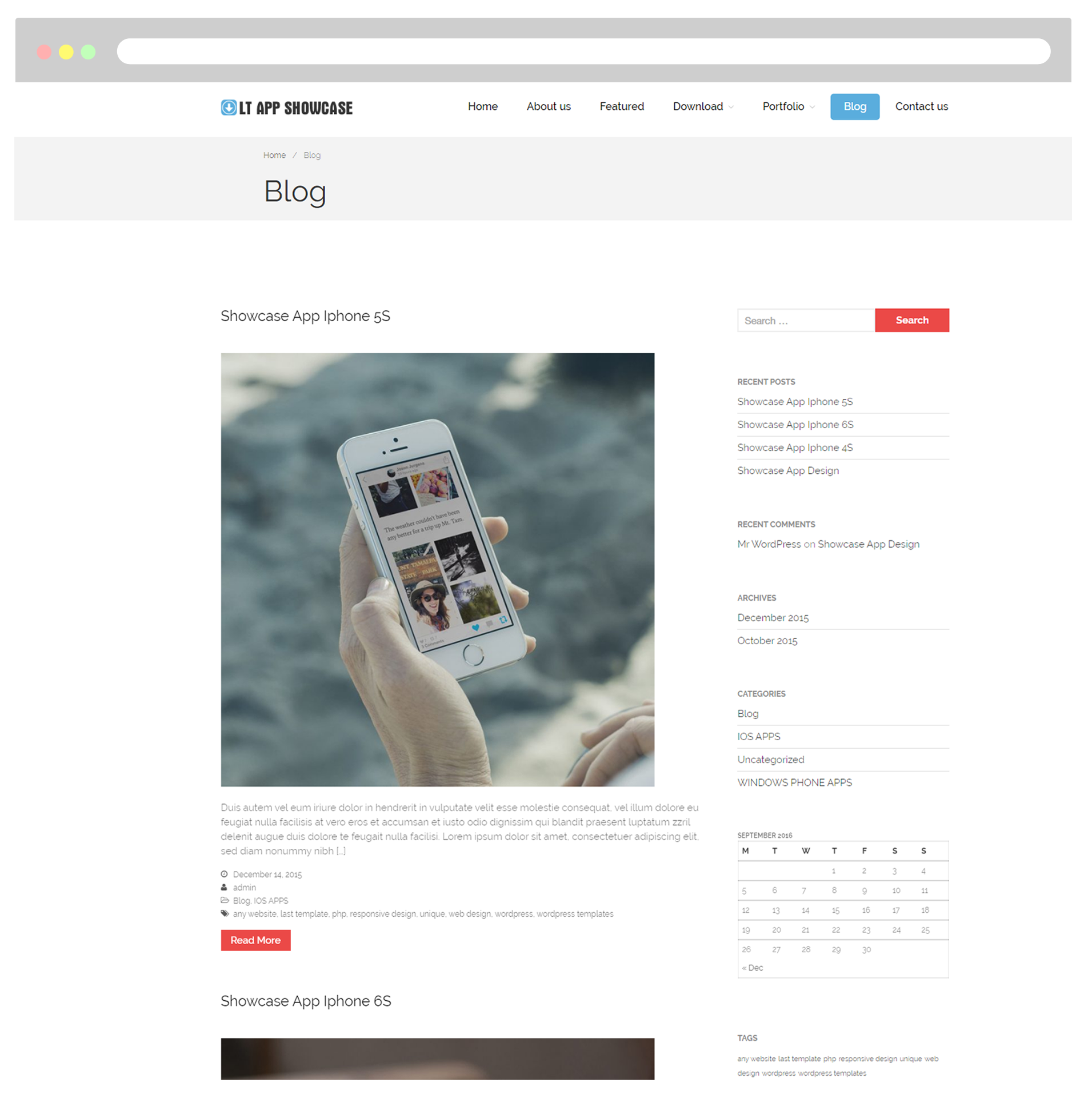 Tolle Wordpress Template Design Galerie - Beispiel Business ...