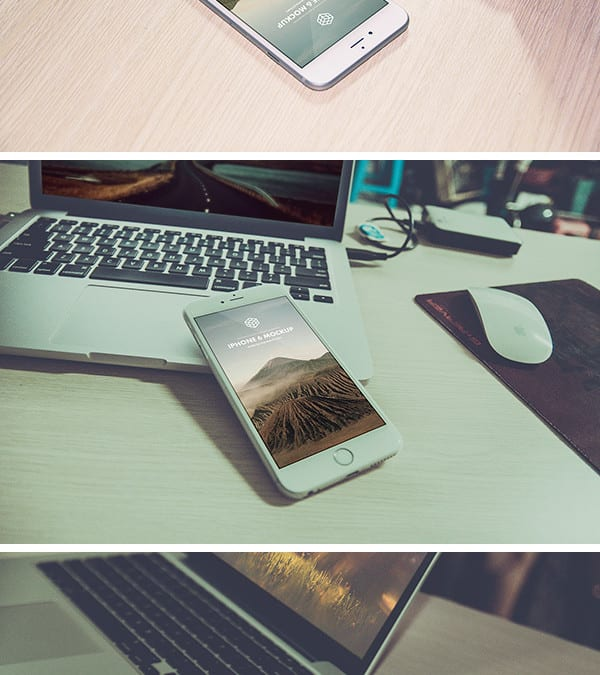 iPhone 6 Plus PSD MockUps