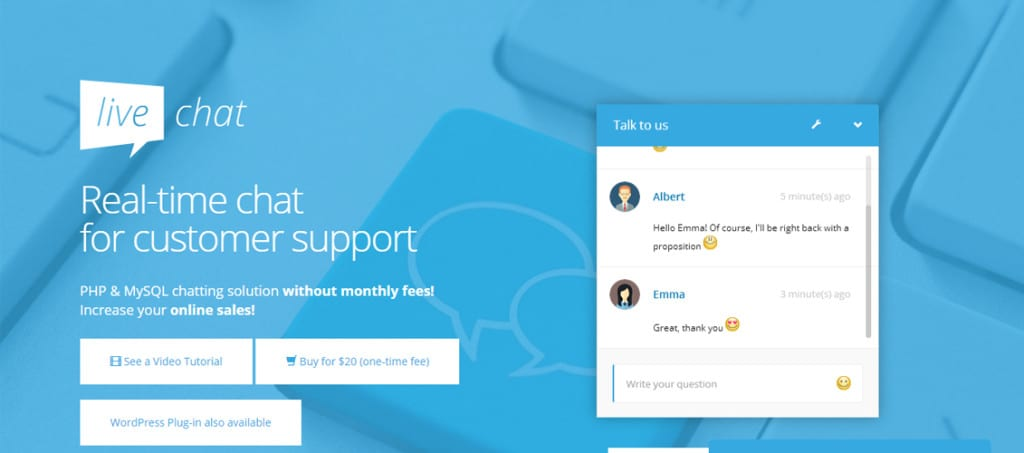 php live support Download free ultimate support chat php scripts – codecanyon | ultimate support chat – php live chat (updated on 5th july 2016) is a complete php & mysql based it designed for any website no monthly fees while using this premium script for any website means including all wordpress sites.