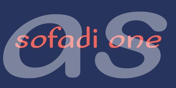 Sofadi-One-free-font