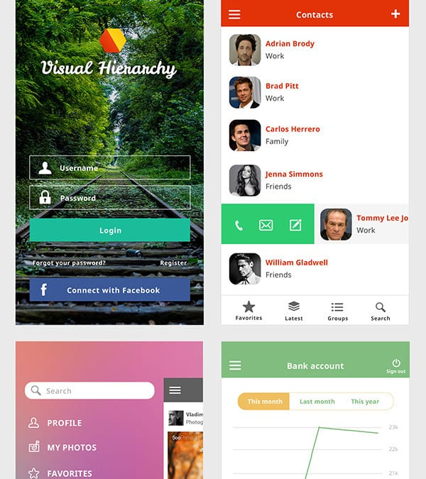 Ace iOS8 Mobile UI Kit Free Download