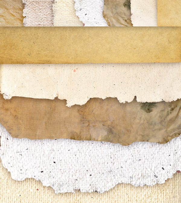 Set Of 7 Free Paper Textures Backgrounds