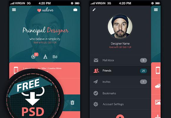 16Free App Design Templates