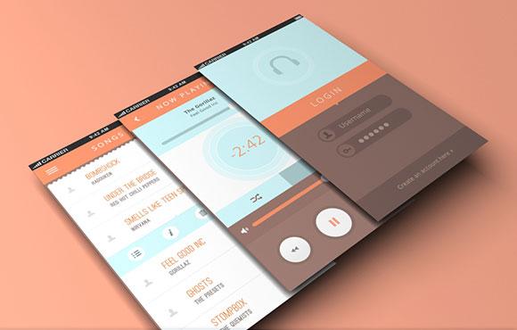 19Free App Design Templates