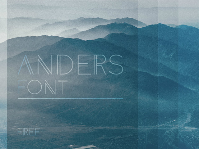 4Anders free font
