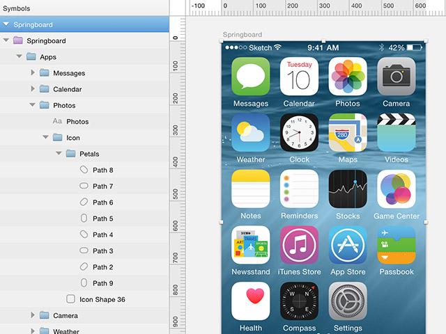 5Free App Design Templates