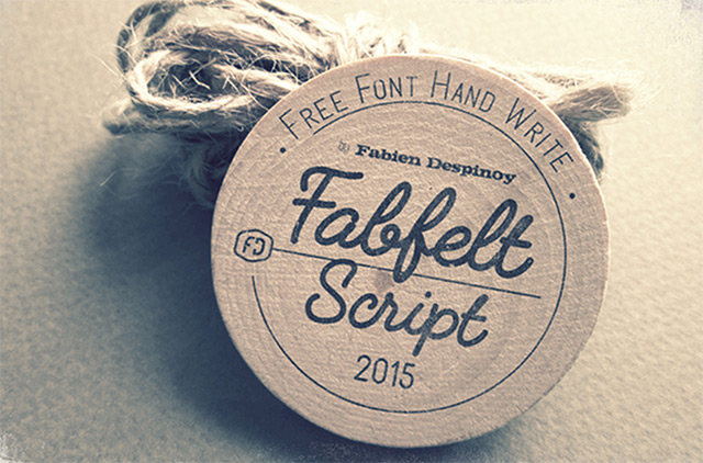 7Fabfelt Script free font