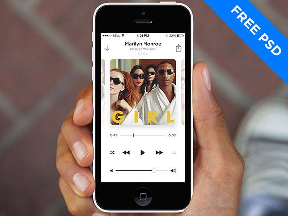 7Free App Design Templates