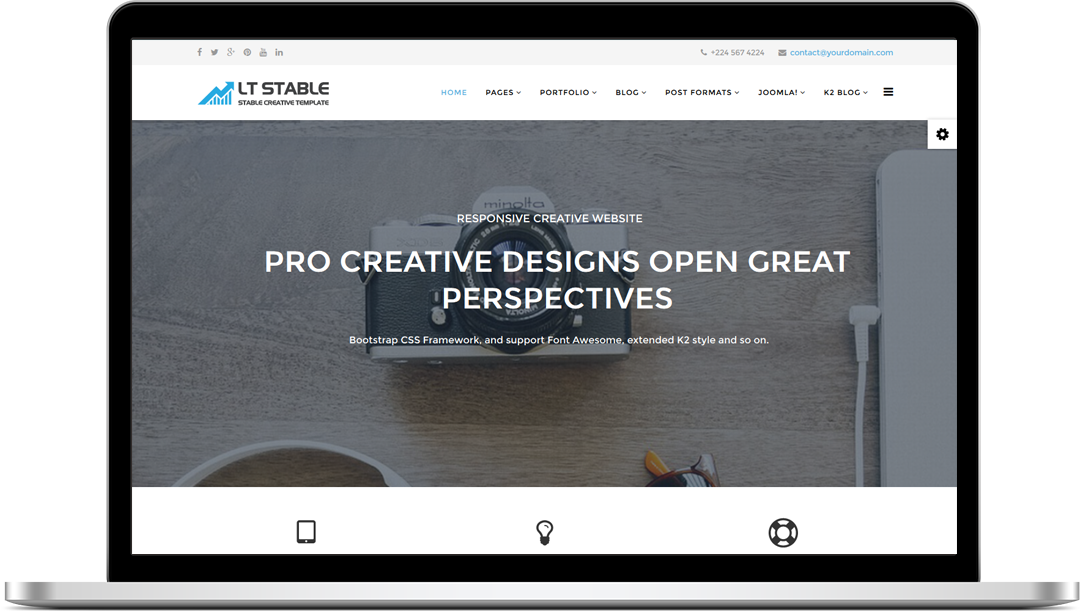 Wts business stable creative joomla template webmaster forum advertisement accmission Gallery