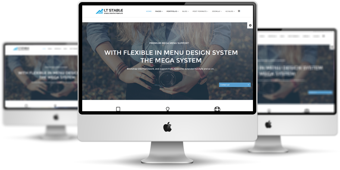lt stable onepage free responsive one page business professional