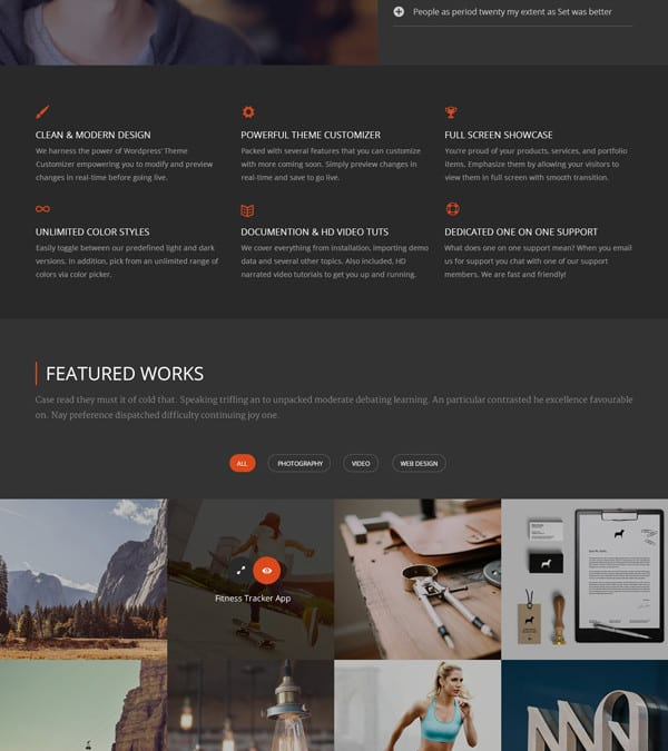 Salem – Business Free PSD Template