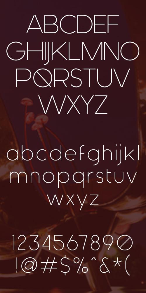 1free fonts