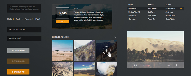 13 Free UI Kits And Templates