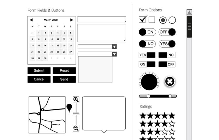 3 free wireframe templates