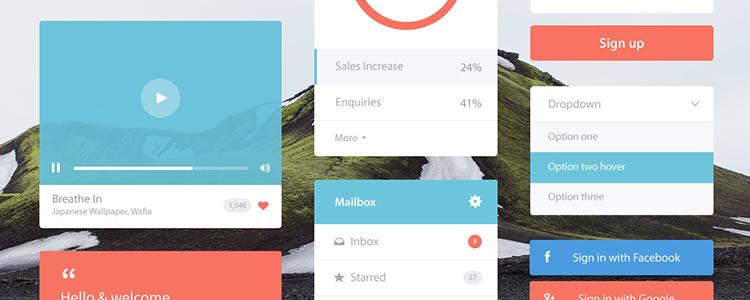 30 Free UI Kits And Templates