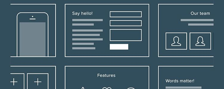 6 free wireframe templates