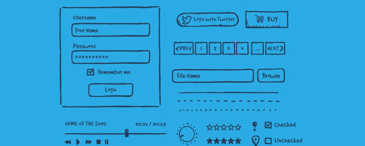 9 free wireframe templates