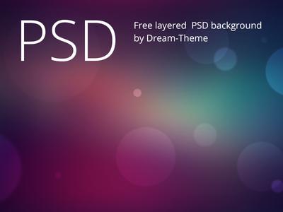 Bokeh-Background-PSD