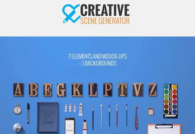 Creative-Scene-Generator-Free