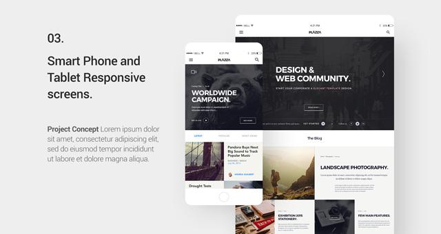 Free-PSD-UI-Design-Template