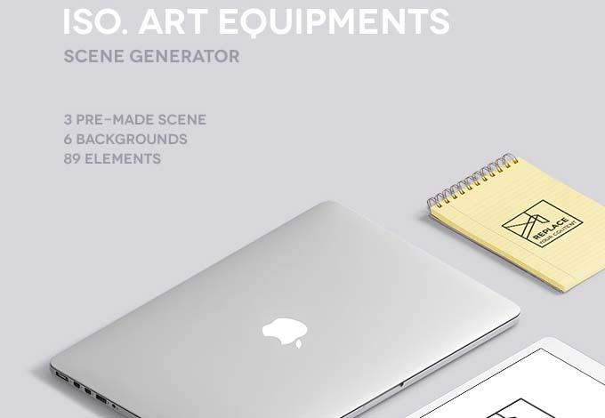 Iso-Art-Scene-Generator-Free