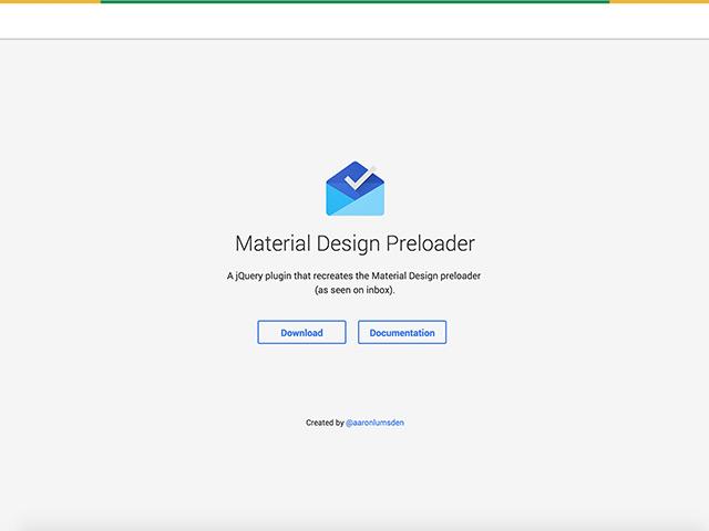 Material-Design-preloader