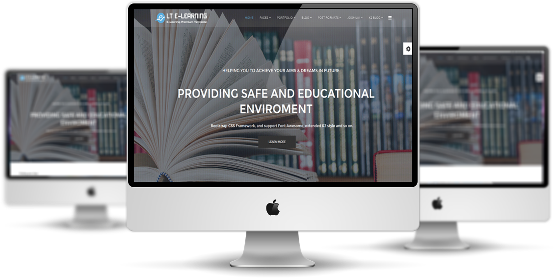 eLearning-joomla-template-preview