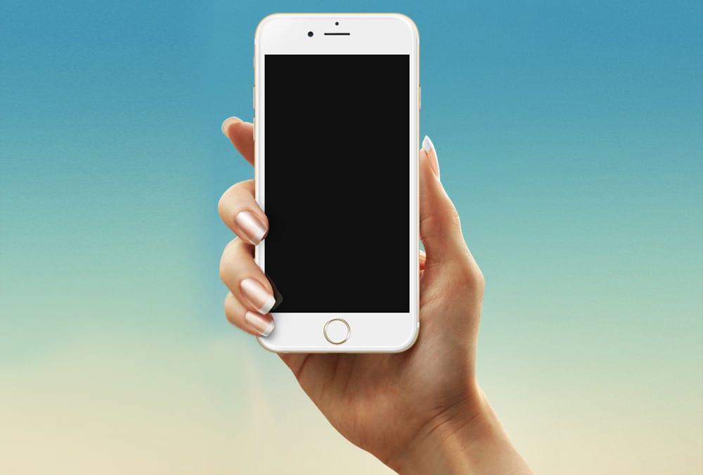 iPhone 6 & Samsung Galaxy S6 Free MockUp Templates