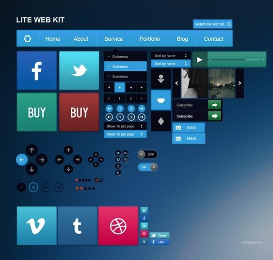 11Free Web UI Elements