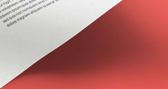 2A4 Paper PSD MockUp Template Vol11
