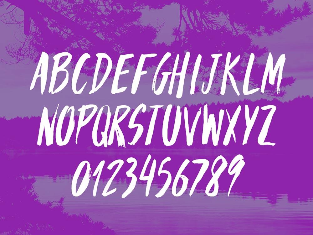 3Handwritten Free Font