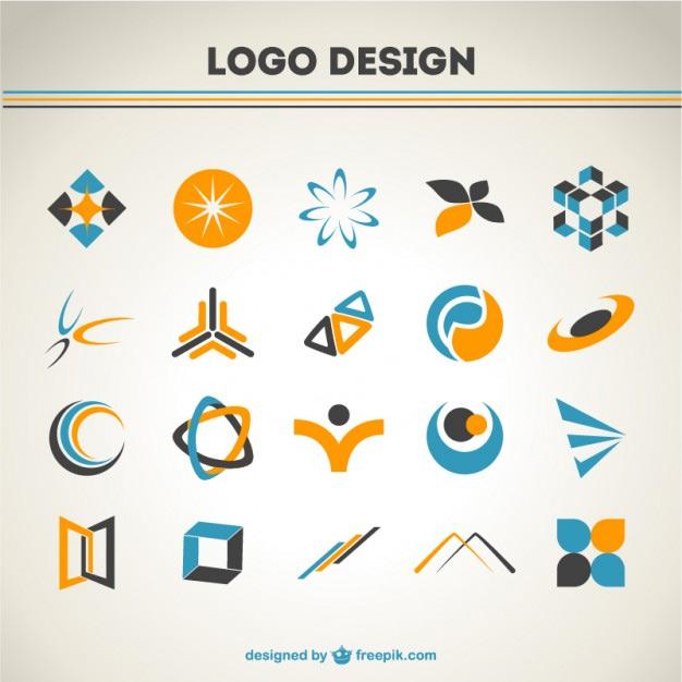 Free Set Of 300+ Logo Templates