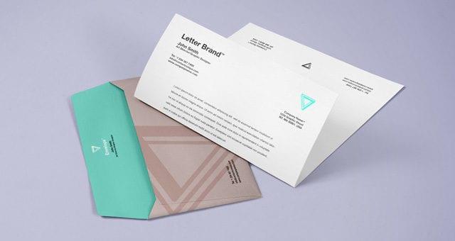 Good Envelope Letter Branding MockUp PSD Template
