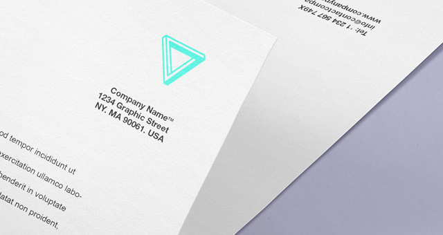 Envelope Letter Branding MockUp PSD Template