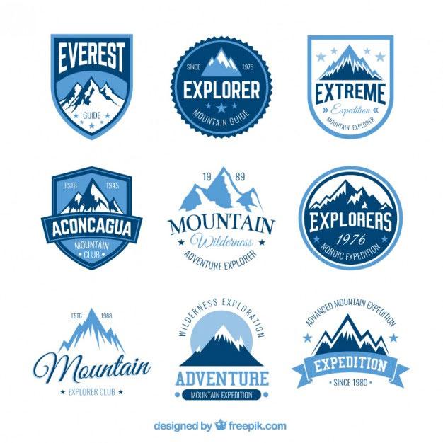 190+ Free Vector Badges For Logo Design