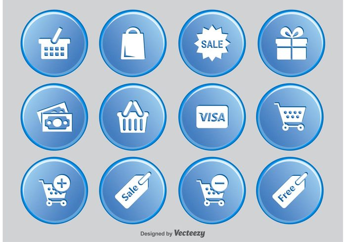 Useful Set Of Shopping Free Icons Download