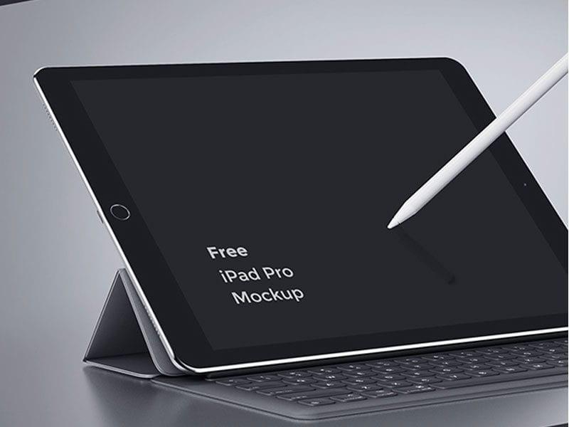 iPad Pro Free MockUp Template Download