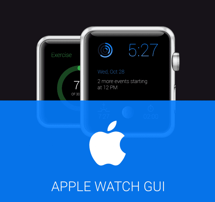 FREE Apple Watch GUI Redesign