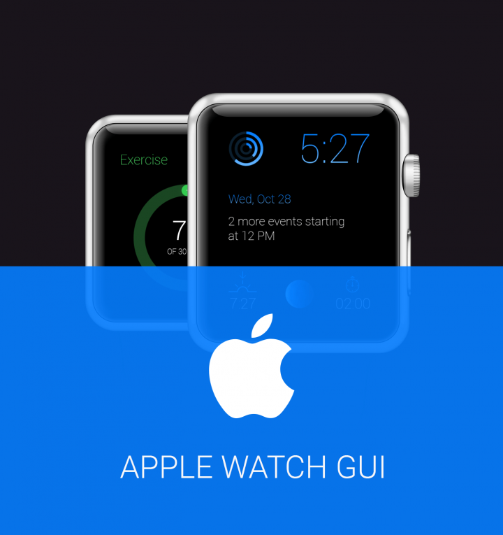 Free GUI Apple watch