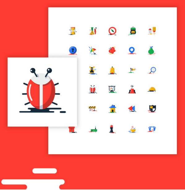1000+ Free Flat Icons Download – Blobs