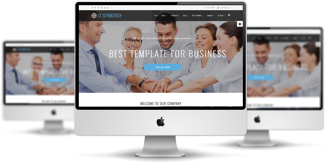 LT Strategy Joomla template Main