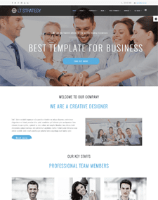 LT Strategy Onepage – Free Creative / Business Onepage Joomla template
