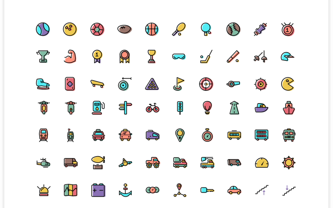 Thousands Colored – Wired FREE Icons Commercial Use
