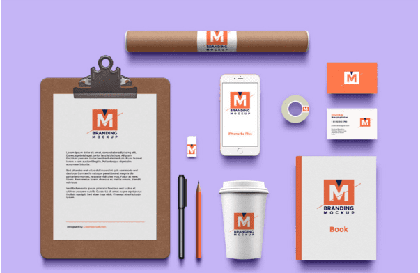 Branding Identity Free Mockup PSD Template